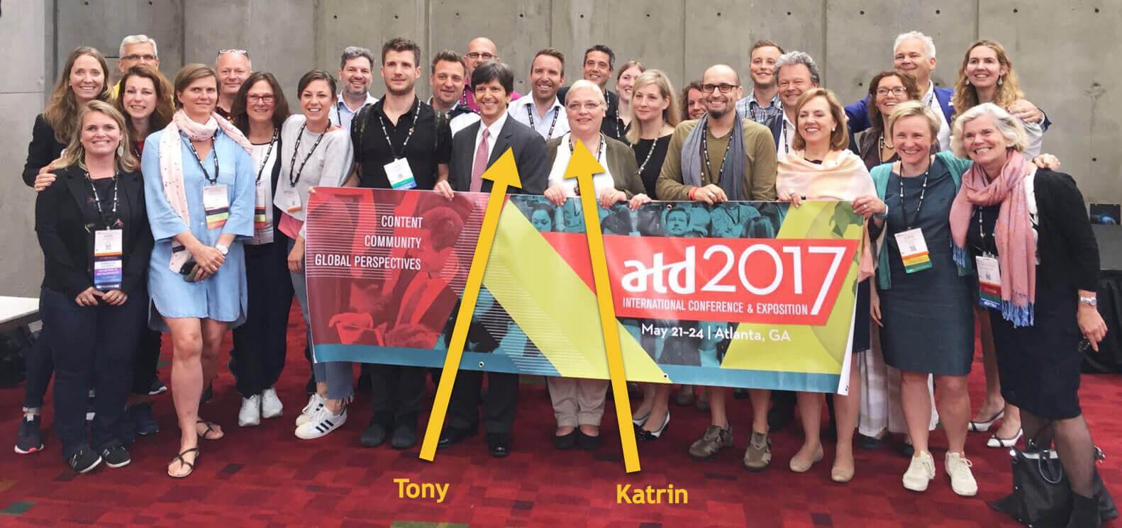 Nederbelgische delegatie ATD 2017